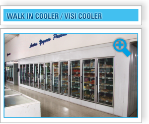 Walk in Cooler / Visi Cooler